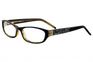 OVision 8677-S Rectangle Frame Eyeglasses with Stones