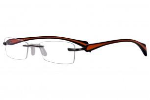 PoleOptik K-2213-01 Rectangle Frame Eyeglasses