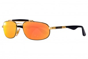 Safilo Mirage 3N-Orange Square Frame Sunglasses