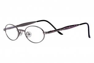 SleekLine SL117 Oval Frame Eyeglasses