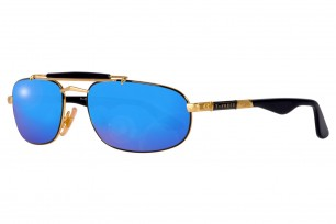 Safilo Mirage 3N-Blue Square Frame Sunglasses