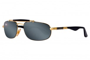 Safilo Mirage 3N-Silver Square Frame Sunglasses