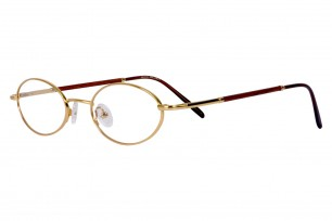 SleekLine SLW01 Oval Frame Eyeglasses